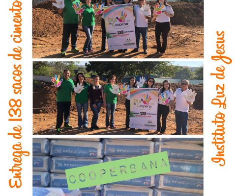 Finalização da campanha para construção do refeitório e cozinha do Instituto Luz de Jesus