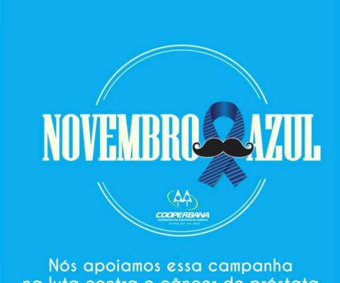 Novembro azul – Pela saúde do homem!