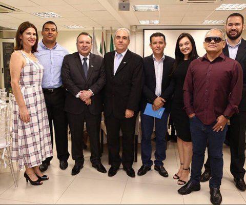 COOPERBANA presente na posse do novo Conselho de Administração do Sistema OCB/SESCOOPGO